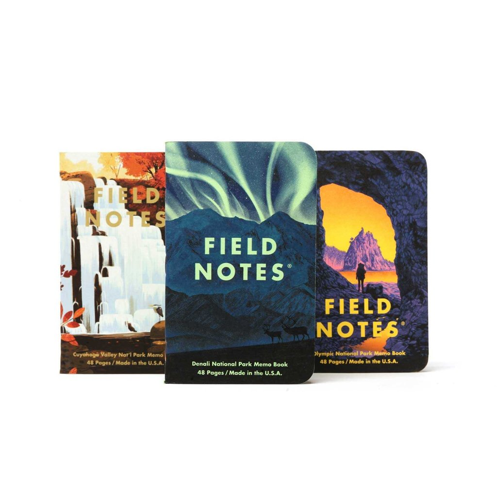 Field Notes National Parks: Series E