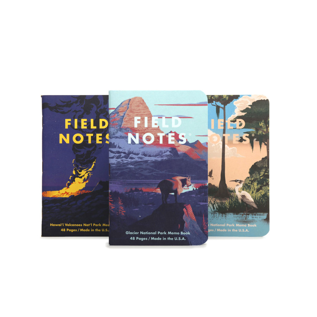 Field Notes National Parks: Series F