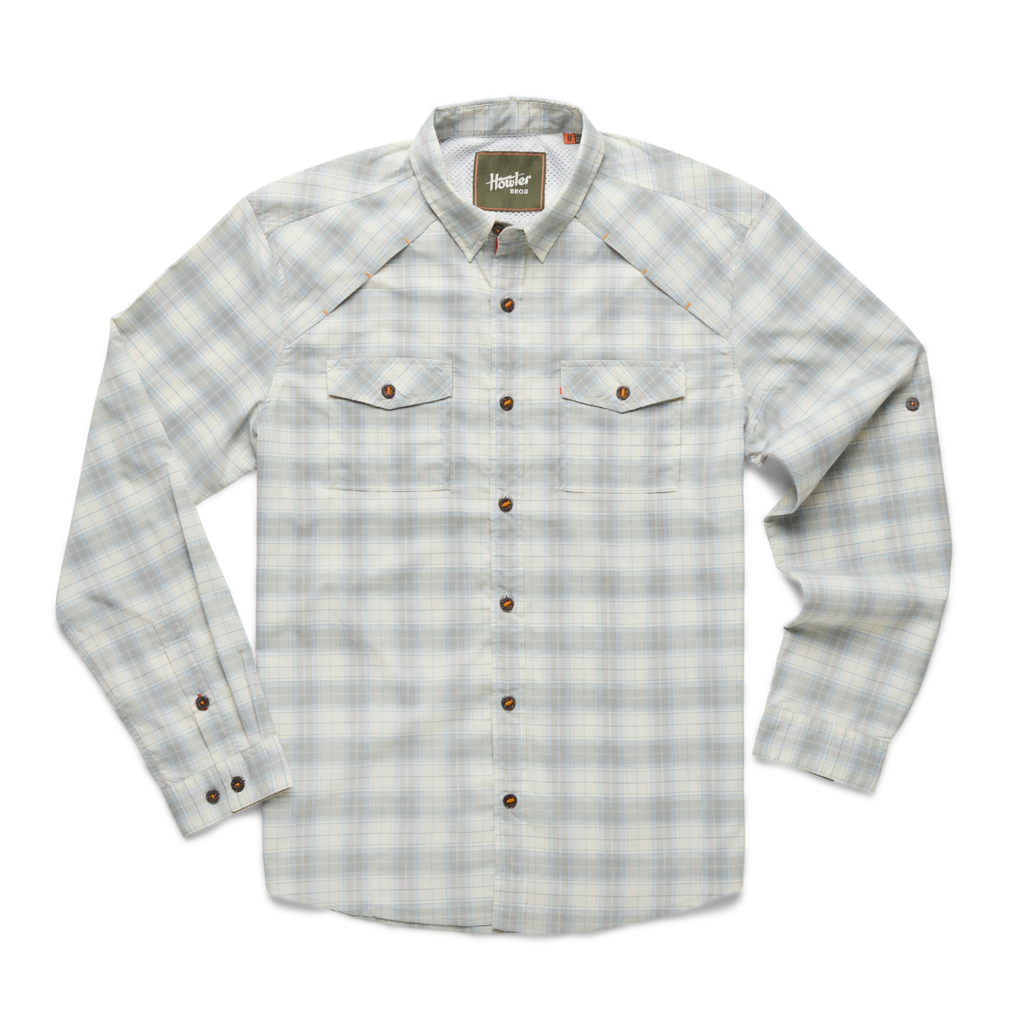Howler Bros Howler Brothers Firstlight Tech Shirt: Neches Plaid