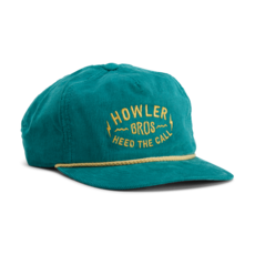 Howler Bros Howler Brothers Unstructured Snapback-Painted Dark Teal