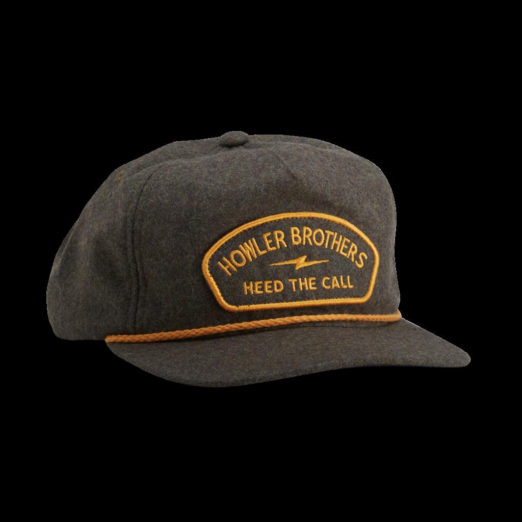 Howler Bros Howler Brothers Unstructured Snapback-Lightning  Badge: Grey