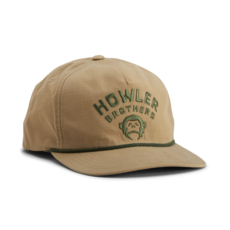 Howler Bros Howler Brothers Unstructured Snapback-Camp Howler: Khaki