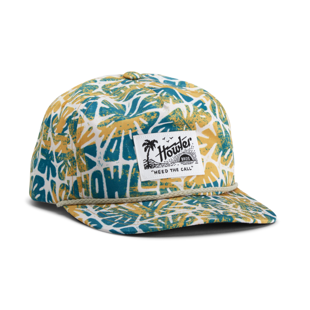 Howler Bros Howler Brothers Unstructured Snapback-Tropicalia: Off White