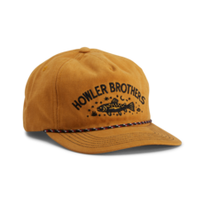 Howler Bros Howler Brothers Unstructured Snapback- Creative Trout: Old Gold