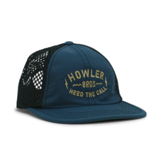 Howler Bros Howler Brothers Tech Strapback- Painted Howler: Navy