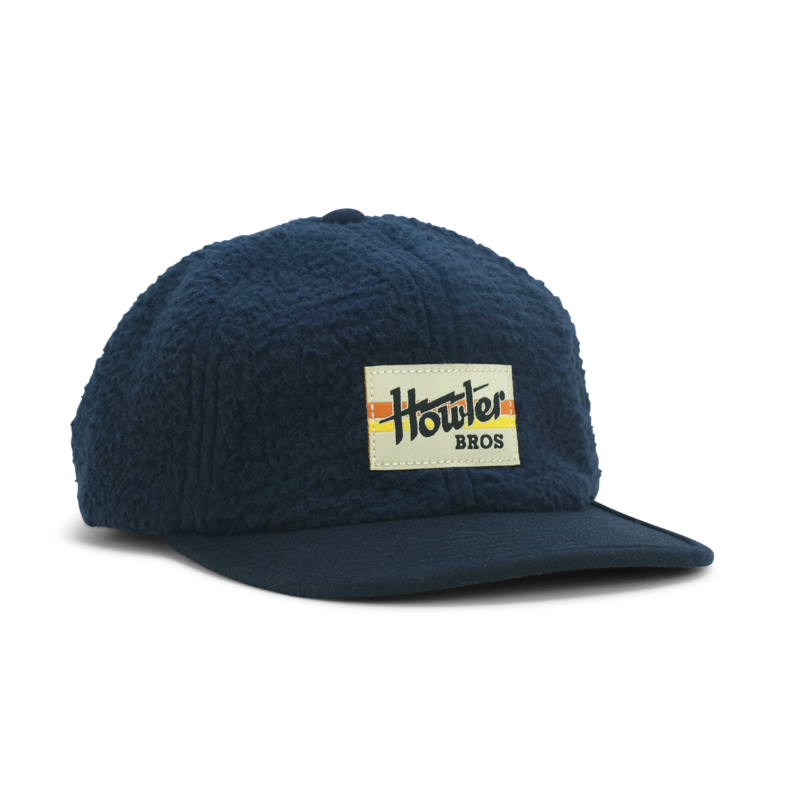 Howler Bros Howler Brothers Tech Strapback- Navy Fleece