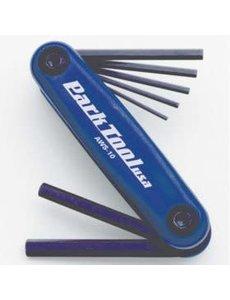 ParkTool Park Tool, AWS-10, Cles hexagonales repliables, 1.5mm, 2mm, 2.5mm, 3m, 4mm, 5mm et 6mm
