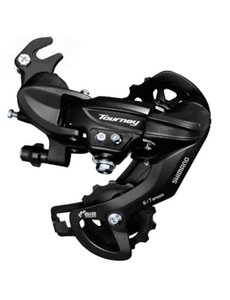 Shimano, REAR DERAILLEUR, RD-TY300, TOURNEY, 6/7-SPEED, W/RIVETED