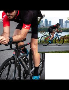 Positionnement régulier CLM, triathlon ou avec tige de selle intégrée
