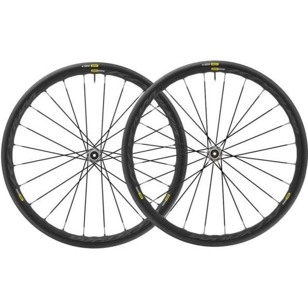 Mavic Mavic roues Ksyrium Elite UST Graphite Black Pair M-25 9mm