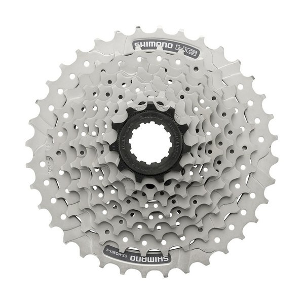 Shimano, CASSETTE, CS-HG201-9,11-34, 9-SPEED, 11-13-15-17-20-23-26-30-34T