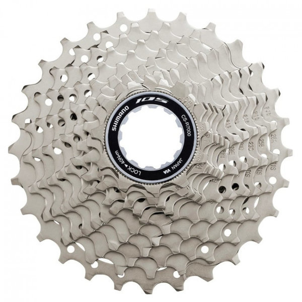 Shimano, CASSETTE CS-R7000, 105, 11-SPEED, 11-32, 11-12-13-14-16-18-20-22-25-28-32T