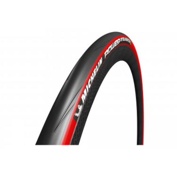 Michelin, Pneu POWER ENDURANCE, 700Cx25C Rouge