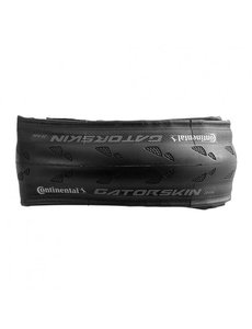 CONTINENTAL GATORSKIN - BLACK EDITION 700 x 25 Fold Black-Black DuraSkin