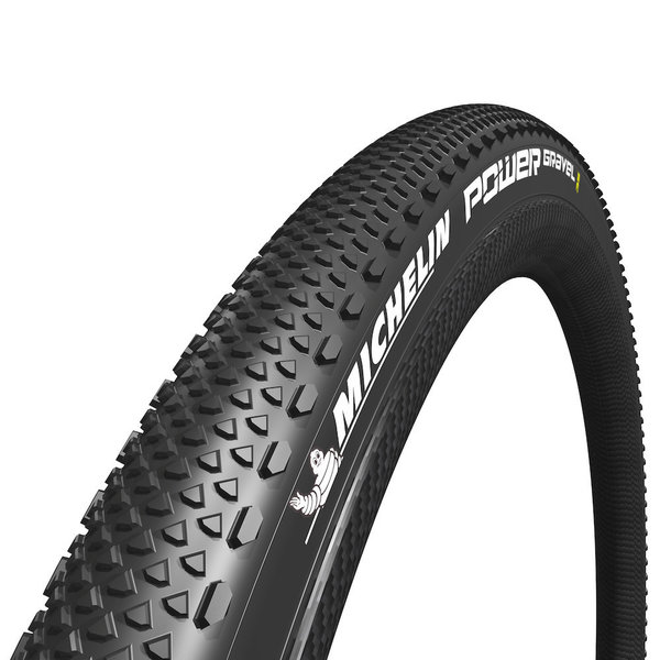 Michelin, Power Gravel, Tire, 700C, 35C, Folding, X-Miles, Bead2Bead Protek, TPI: 3x120, PSI: 90, Black