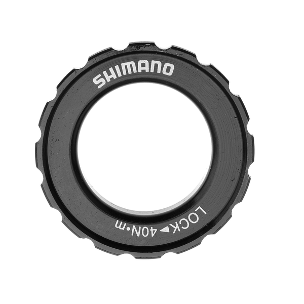 Shimano, HB-M618 LOCK RING & WASHER, black