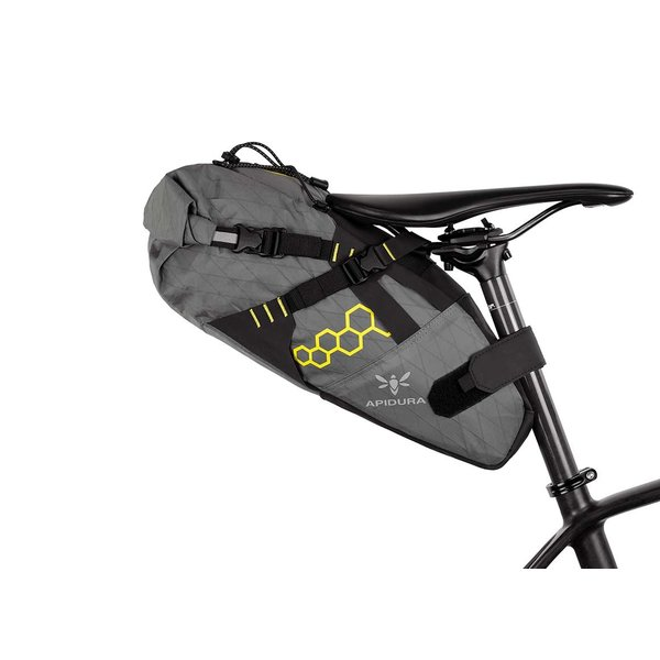 Apidura Backcountry Saddle Pack, 11 Litre (touring/bikepacking/randonneur/commuter bag)