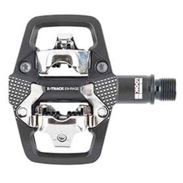 Look, X-Track En-Rage, MTB Clipless Pedals, Aluminum body, Cr-Mo axle, 9/16'', Black