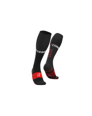 Compressport Compressportas long Full socks course noir
