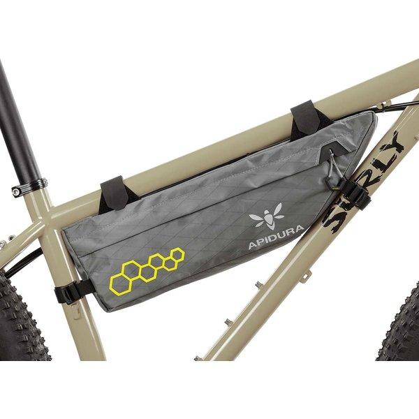 Apidura Backcountry Compact Frame Pack, 3 Litre (touring/bikepacking/randonneur/commuter bag)