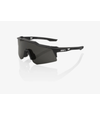 100% 100% Speedcraft XS - Soft Tack black - Smoke Lens