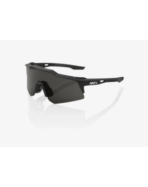 100% 100% Speedcraft XS - Soft Tack black - Smoke Lens