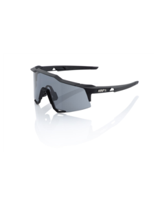 100 Percent 100% Speedcraft - Soft Tact Black - Smoke Lens