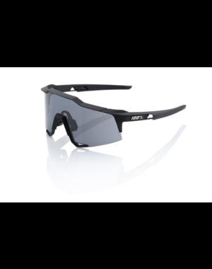 100 Percent 100% Speedcraft - Soft Tact Black - Smoke Lens