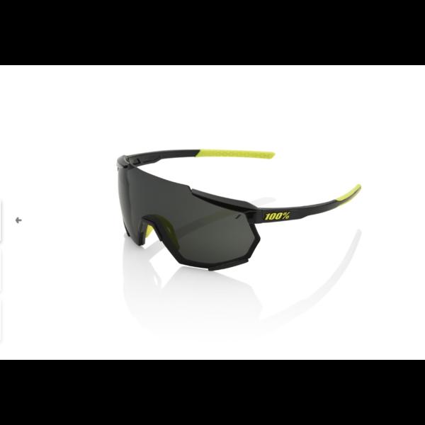 100% 100% Racetrap - Gloss Black - Smoke Lens