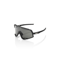 100 Percent 100% Glendale - Soft Tact Black - Smoke Lens