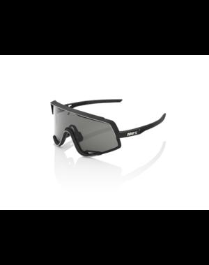 100 Percent 100% Glendale - Soft Tact Black - Smoke Lens