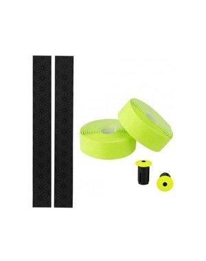 Supacaz, Super Sticky Kush - Single Color, Handlebar Tape, Neon Yellow
