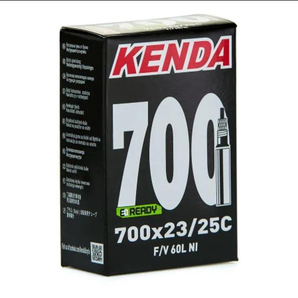 KENDA, Chambre à air,  700X23-25 PRESTA 60MM