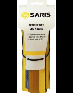 Saris Saris Trainer Tire: 700 x 25, Yellow