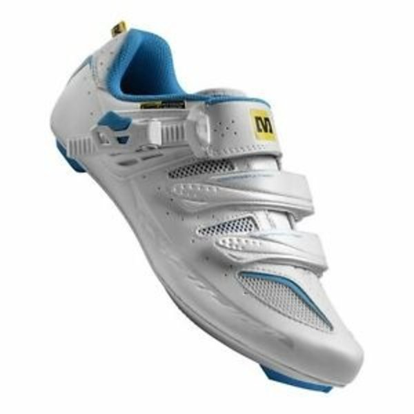 Chaussures Mavic Ksyrium Elite Femme White/Blue 8.5