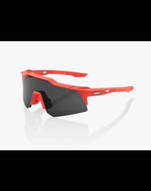 100% 100% Speedcraft XS - Soft Tact Coral - Smoke Lens