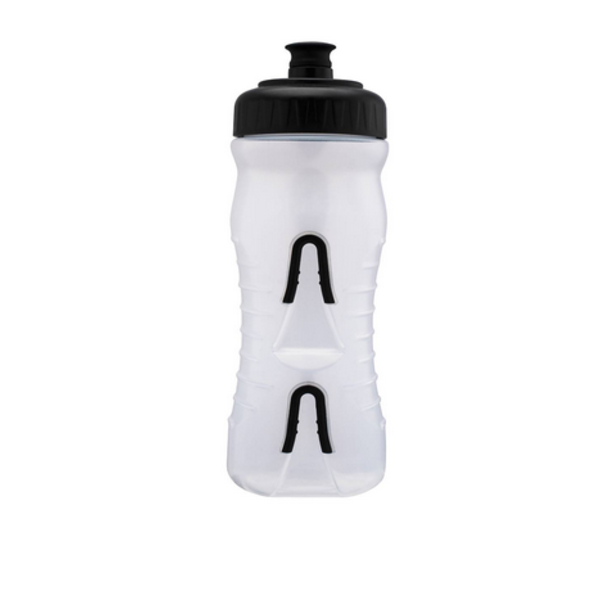 Fabric FABRIC Cageless Bottle CLB 600ml, Clear w Black, 600ml