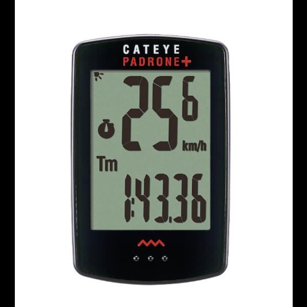 CatEye CatEye, Padrone +, Cyclomètre, Black