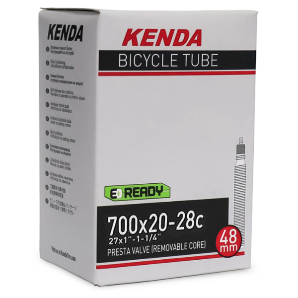 "TUBE KENDA 700X20-28C (27""X1-1-1/4"") P.V 48MM"
