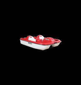Pelican Pelican pedal boat Monaco Red/white