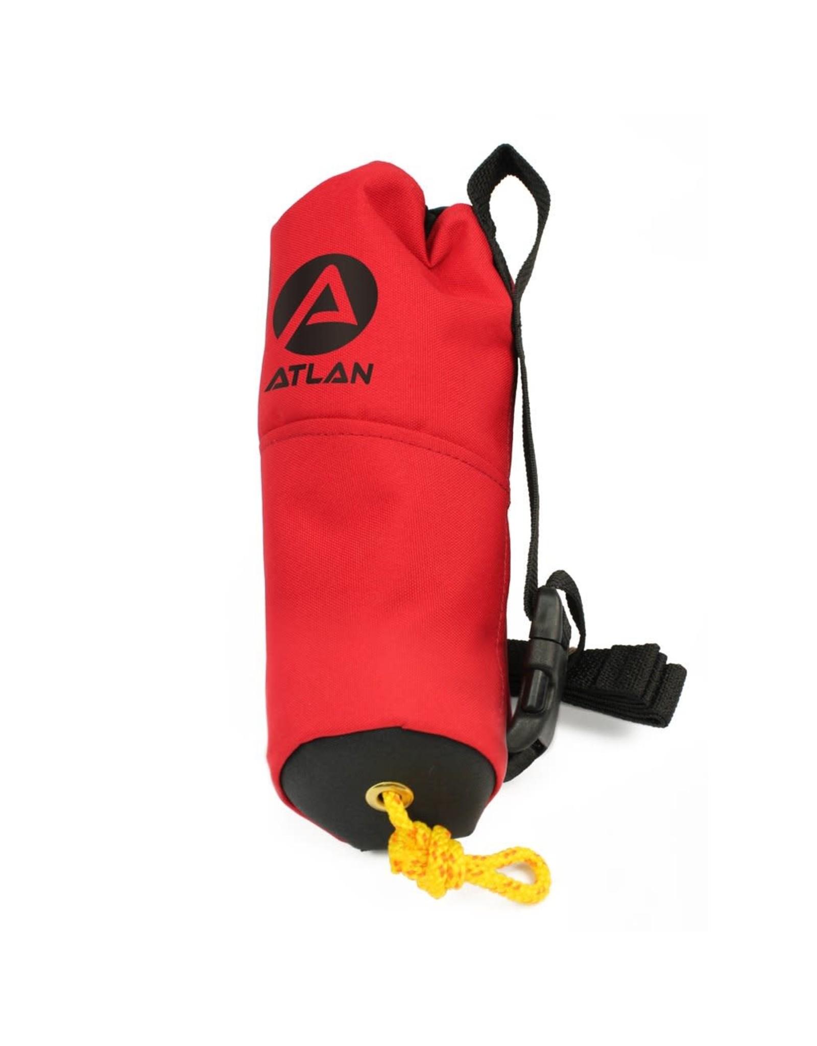 Atlan Atlan Sac à corde 6,4 mm, 50 pieds à tressage simple
