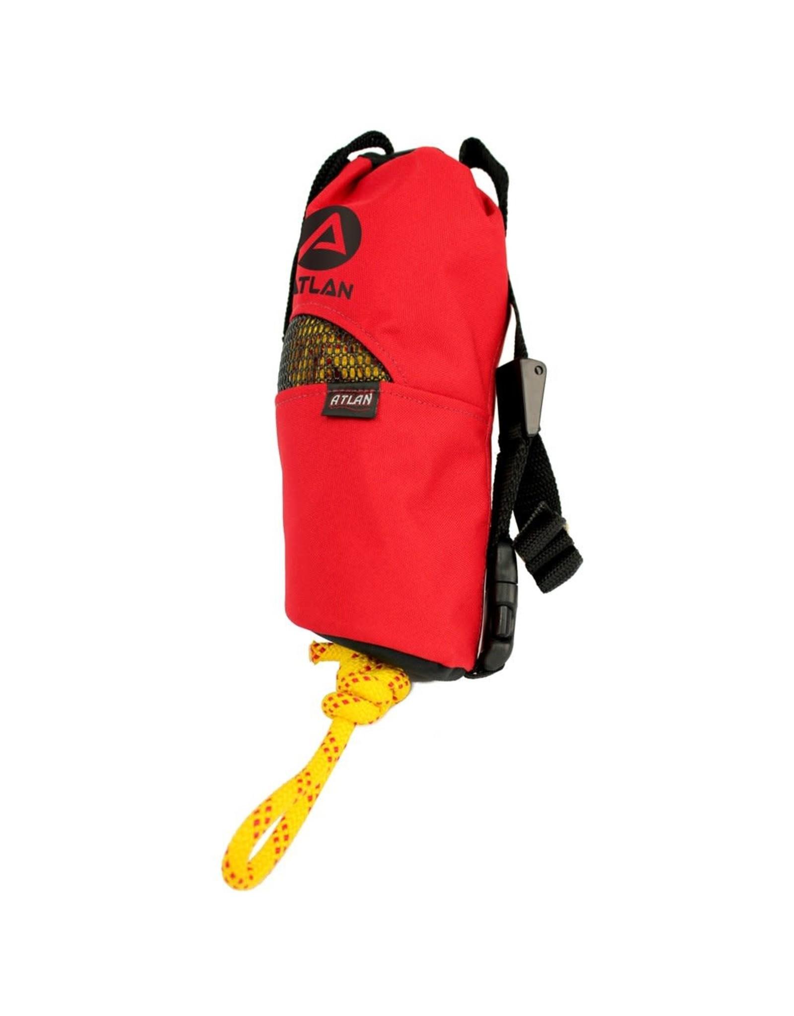 Atlan Atlan Conical Throw Bag, 50 ft of 7.9mm Rope Single Braiding