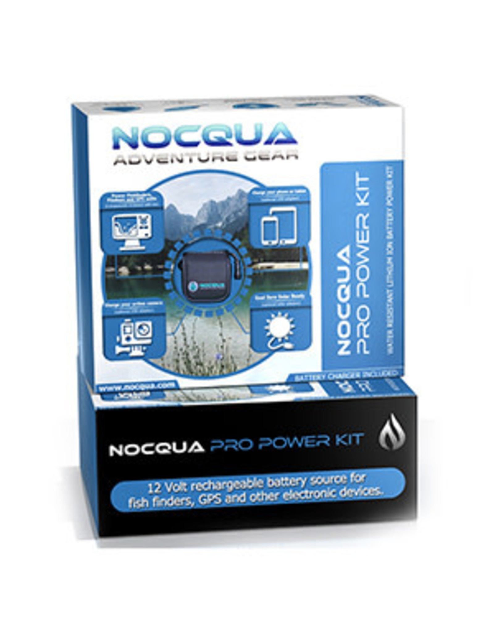 Nocqua Hobie Acc. Batterie - Nocqua Lithium Pro Power Kit 12v 10ah