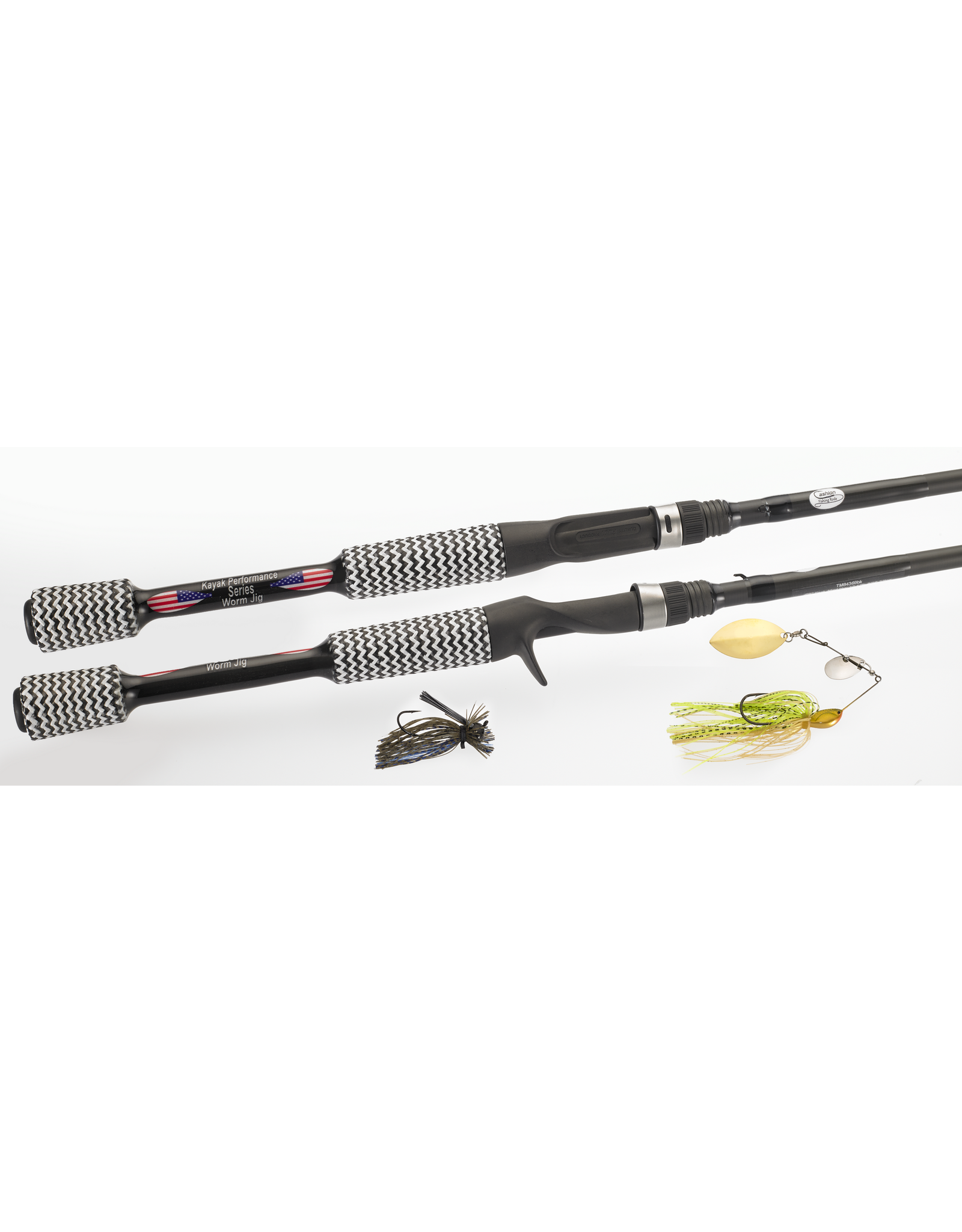 "Cashion Rods Cashion Rod Kayak Worm 6'9"" Fast, Med-Hvy"