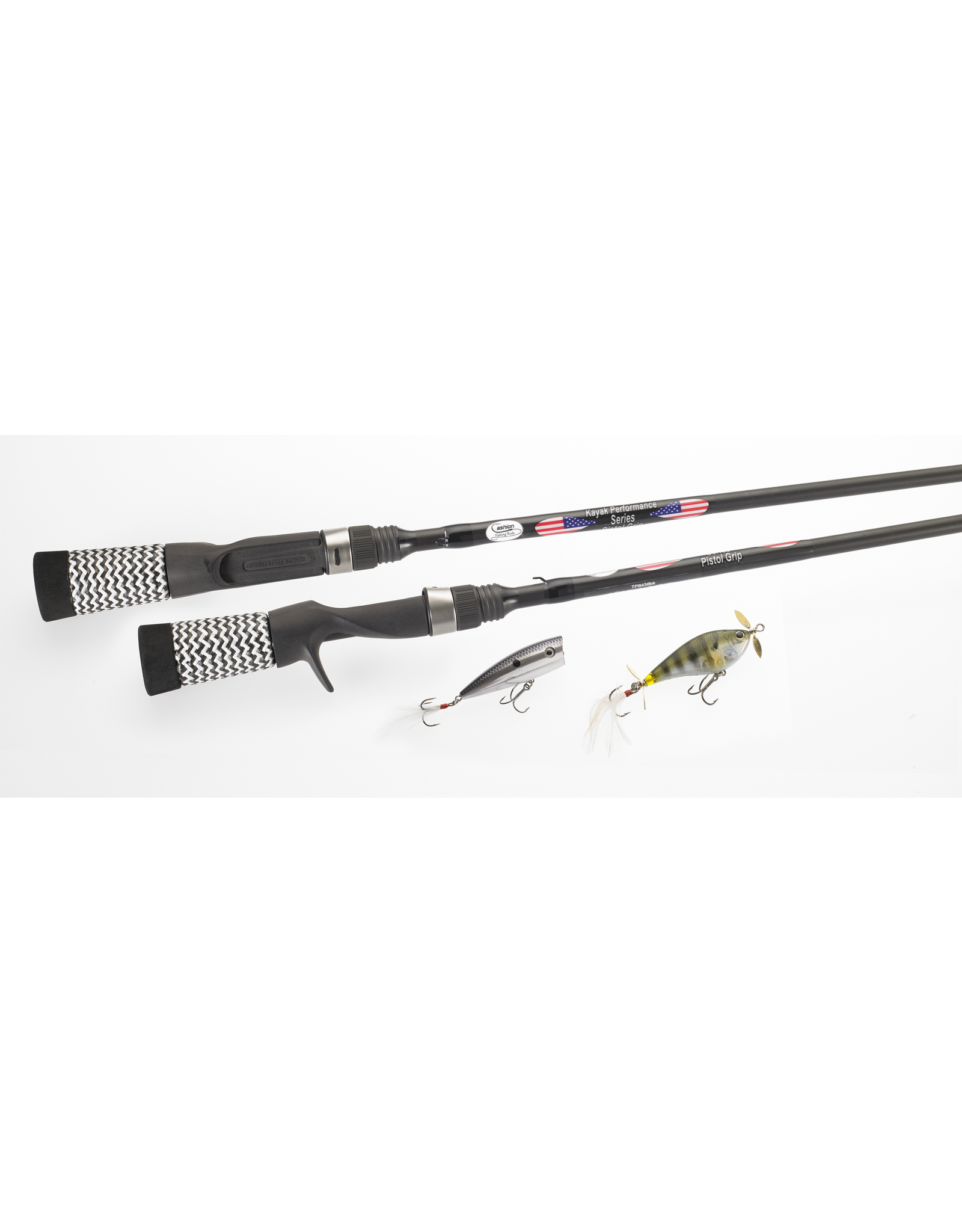 Cashion Rods Cashion Rod Kayak Pistol Grip 6' Fast,Med