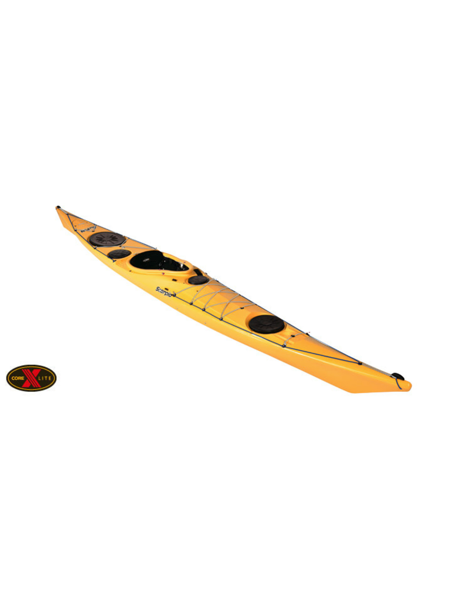 P&H Custom Sea Kayaks P&H kayak Scorpio MKII CoreLite X with skeg