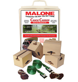 Malone Auto Rack Malone canoe Carrier with tie-downs kit
