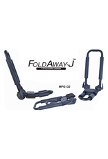 Malone Auto Rack Malone FoldAway-J™ Kayak Carrier with Tie-Downs