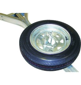 """Malone Auto Rack Malone Spare Tire for MicroSport Trailer - 12"""" Galvanized - w/ Locking Attachment"""