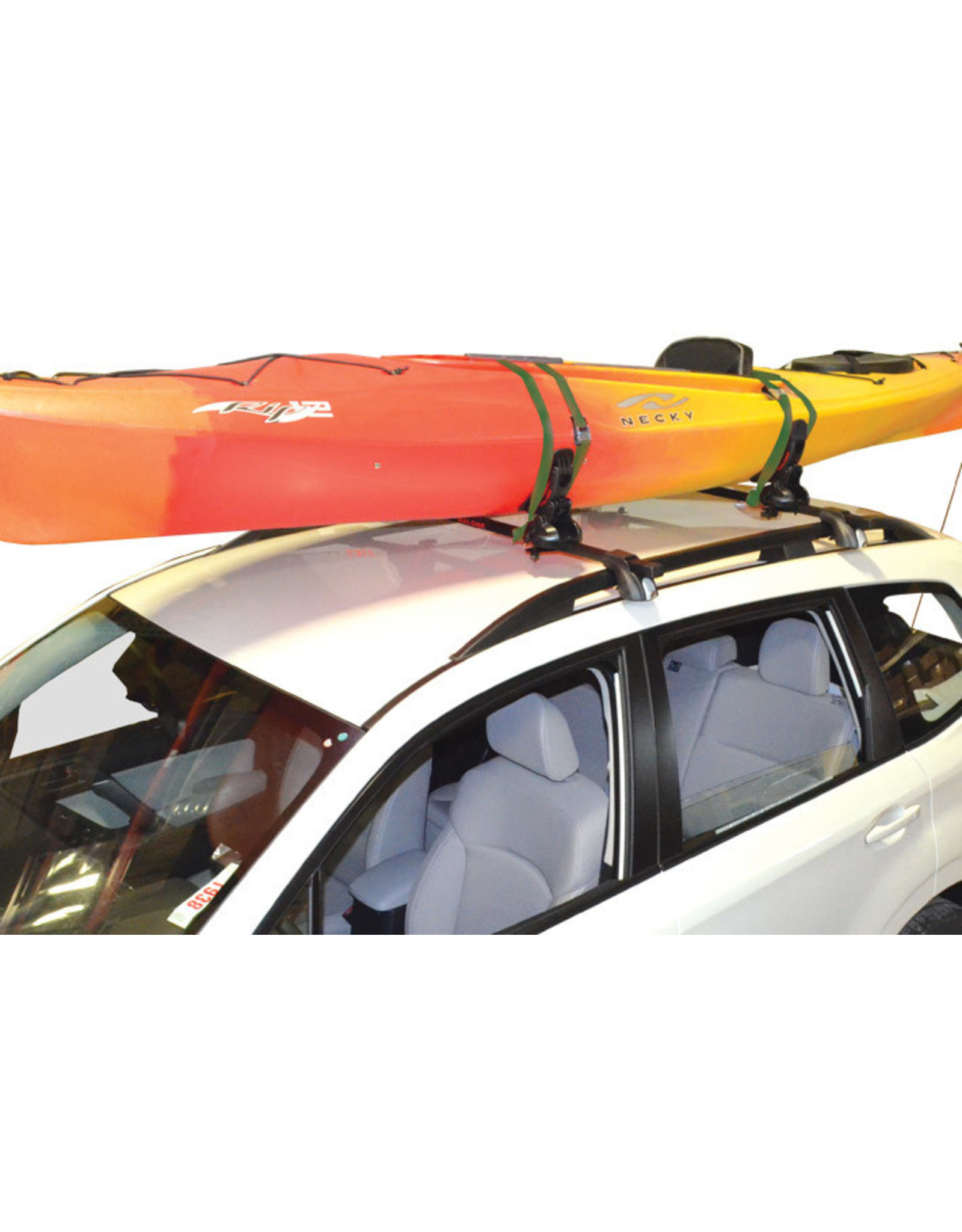 Malone Auto Rack Malone SaddleUp Pro Kayak Carrier with Tie-Downs